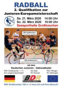 2. Qualifikation zur Junioren-Europameisterschaft